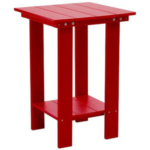 Little Cottage Co. Contemporary Balcony Table Table Cardinal Red