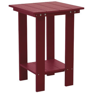 Little Cottage Co. Contemporary Balcony Table Table Cherrywood