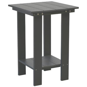Little Cottage Co. Contemporary Balcony Table Table Dark Gray
