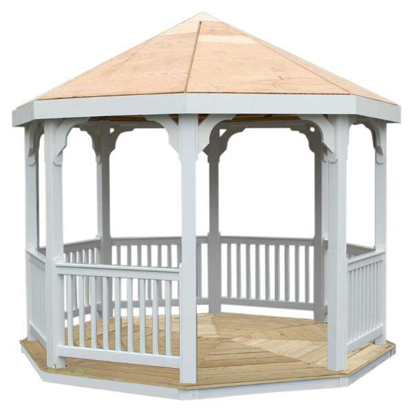Creekvine Design 10 ft Vinyl Gazebo Other Furniture