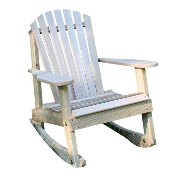 Creekvine Design Cedar American Forest Adirondack Rocker Adirondack Unfinished