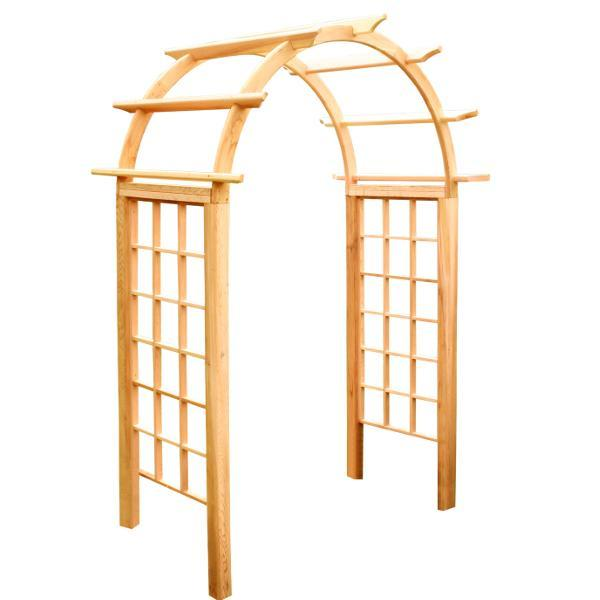 Creekvine Design Cedar Arched Arbor Porch Swing Stands 42 Inch