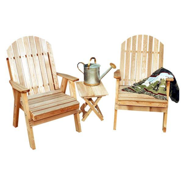 Creekvine Design Cedar Fanback Patio Chair Outdoor Chairs