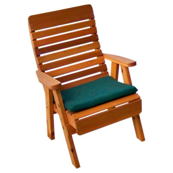 Creekvine Design Cedar Twin Ponds Chair Collection Chair Unfinished