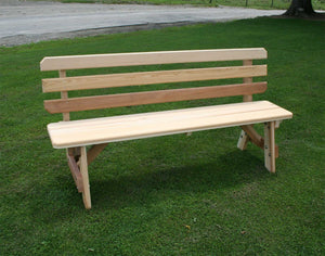 Creekvine Designs Cedar Cross Legged Picnic Table Set Picnic Table