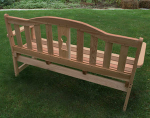 Creekvine Designs Cedar Keyway Garden Bench Garden Benches