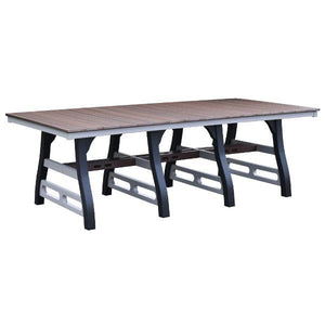 "David Lewis 94"" Manhattan Forge Dining Table"