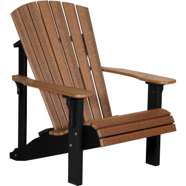 Deluxe Adirondack Chair Adirondack Chair Antique Mahogany & Black