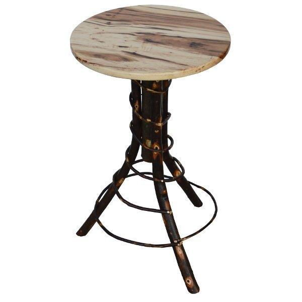 Hickory Accent Table