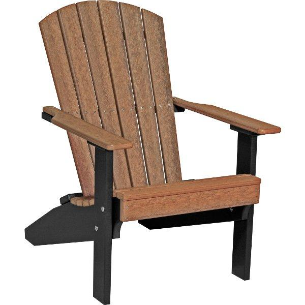 Lakeside Adirondack Chair Adirondack Chair Antique Mahogany & Black