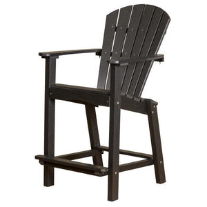 "Little Cottage Co. Classic 30"" High Dining Chair Dining Chair Black"