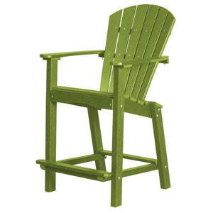 "Little Cottage Co. Classic 30"" High Dining Chair Dining Chair Lime Green"