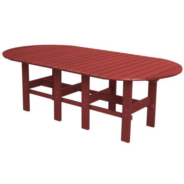 "Little Cottage Co. Classic 44""x84"" Table Table Cardinal Red"