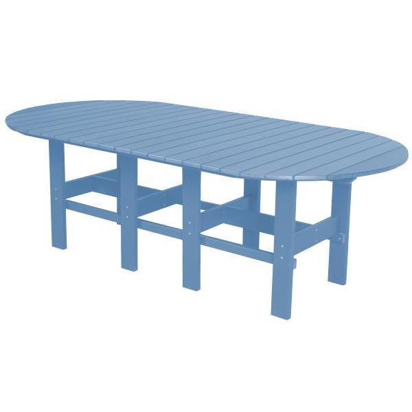 "Little Cottage Co. Classic 44""x84"" Table Table Powder Blue"