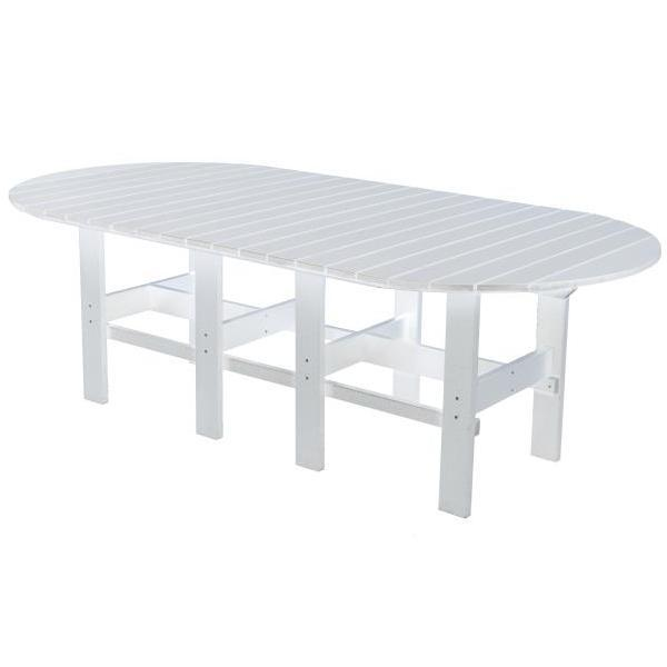 "Little Cottage Co. Classic 44""x84"" Table Table White"