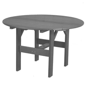 "Little Cottage Co. Classic 46"" Round Table Round Table Dark Grey"