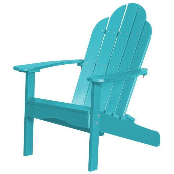 Little Cottage Co. Classic Adirondack Chair Chair Aruba Blue