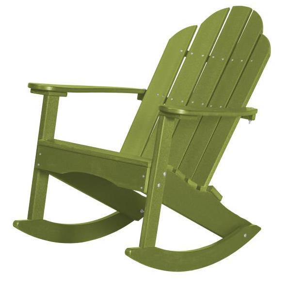 Little Cottage Co. Classic Adirondack Rocker Chair Lime Green