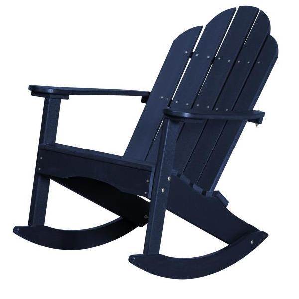 Little Cottage Co. Classic Adirondack Rocker Chair Patriot Blue