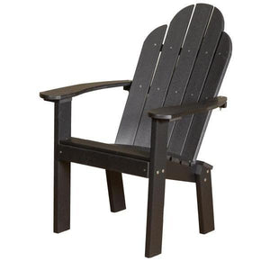 Little Cottage Co. Classic Dining/Deck Chair Dining Chair Black
