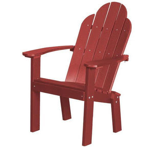 Little Cottage Co. Classic Dining/Deck Chair Dining Chair Cardinal Red