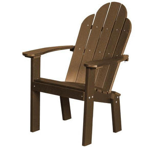 Little Cottage Co. Classic Dining/Deck Chair Dining Chair Tudor Brown