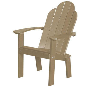 Little Cottage Co. Classic Dining/Deck Chair Dining Chair Weathered Wood