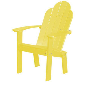 Little Cottage Co. Classic Dining/Deck Chair Dining Chair Yellow