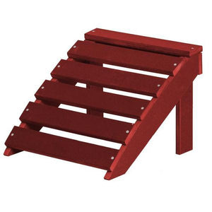 Little Cottage Co. Classic Footrest Footrest Cardinal Red