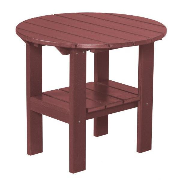 Little Cottage Co. Classic Round Side Table Side Table Cherry Wood