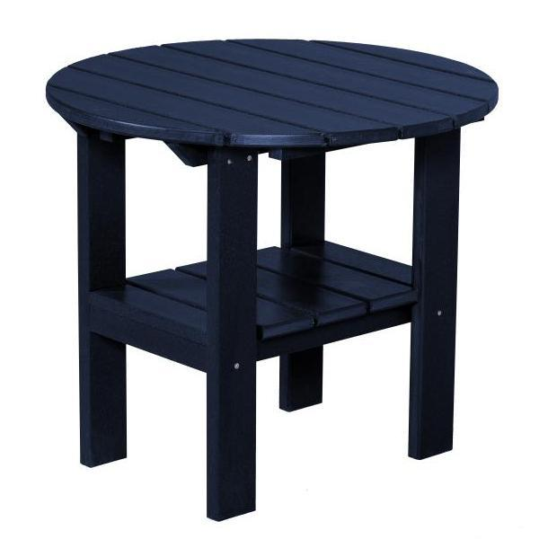 Little Cottage Co. Classic Round Side Table Side Table Patriot Blue
