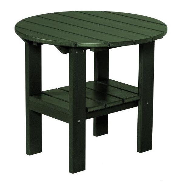 Little Cottage Co. Classic Round Side Table Side Table Turf Green