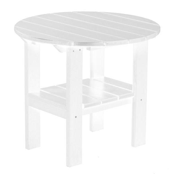 Little Cottage Co. Classic Round Side Table Side Table White