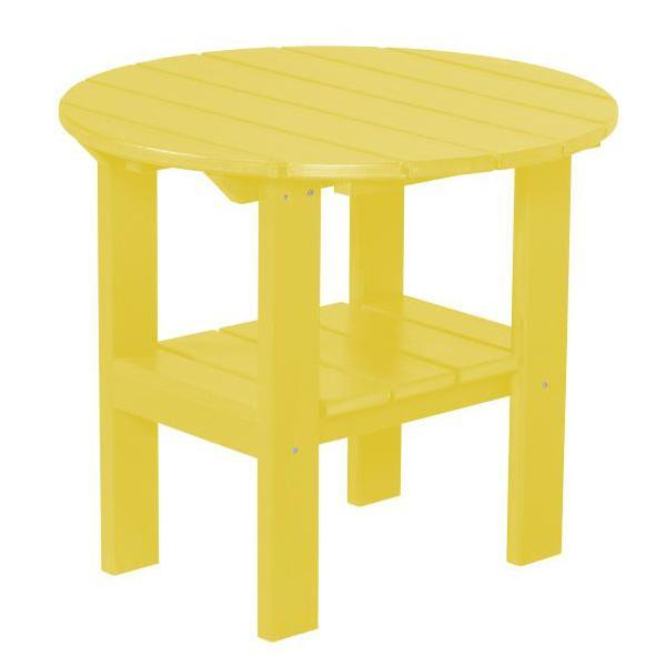 Little Cottage Co. Classic Round Side Table Side Table Yellow