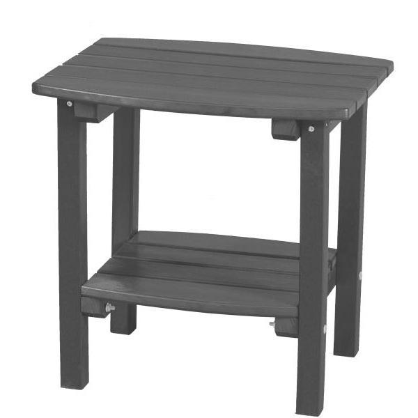 Little Cottage Co. Classic Side Table Side Table Dark Gray
