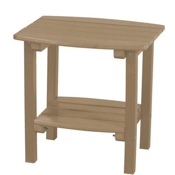 Little Cottage Co. Classic Side Table Side Table Weathered Wood