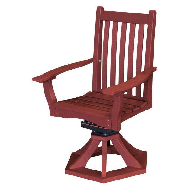Little Cottage Co. Classic Swivel Rocker Side Chair Chair Cherry Wood