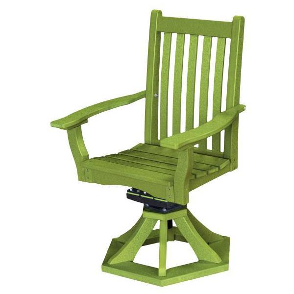 Little Cottage Co. Classic Swivel Rocker Side Chair Chair Lime Green