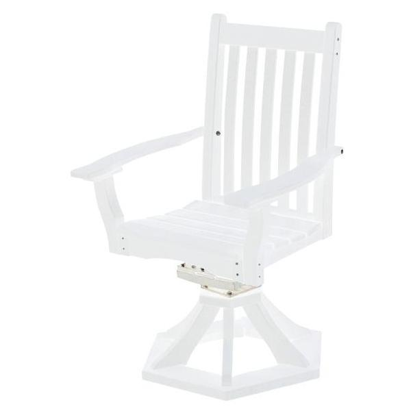 Little Cottage Co. Classic Swivel Rocker Side Chair Chair White