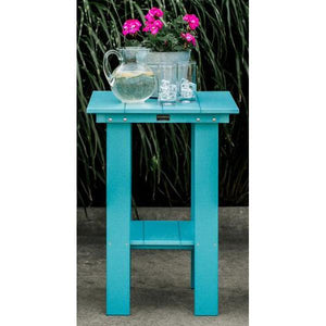 Little Cottage Co. Contemporary Balcony Table Table Aruba Blue