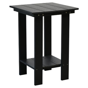 Little Cottage Co. Contemporary Balcony Table Table Black