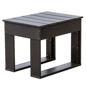 Little Cottage Co. Contemporary Deep Seat Side Table Side Table Black