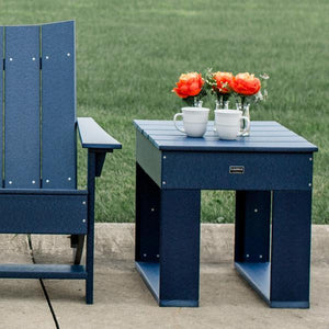 Little Cottage Co. Contemporary Deep Seat Side Table Side Table Patriot Blue