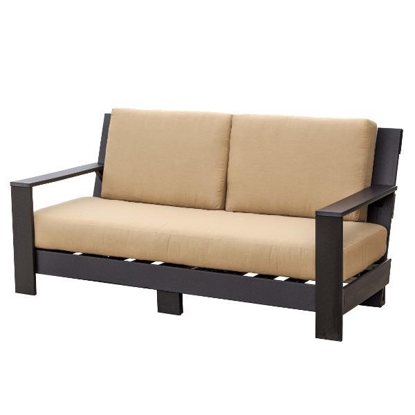 Little Cottage Co. Contemporary Deep Seat Sofa Garden Benches Black-Heather Beige