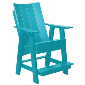 Little Cottage Co. Contemporary High Adirondack Chair Chair Aruba