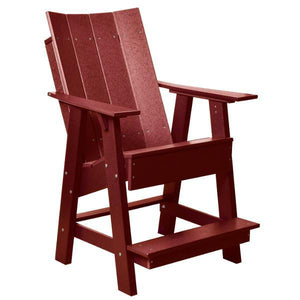 Little Cottage Co. Contemporary High Adirondack Chair Chair Cherrywood