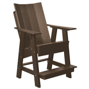 Little Cottage Co. Contemporary High Adirondack Chair Chair Tudor Brown