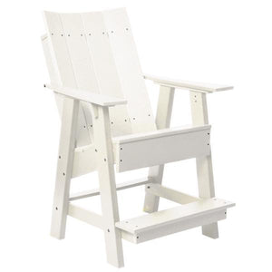 Little Cottage Co. Contemporary High Adirondack Chair Chair White