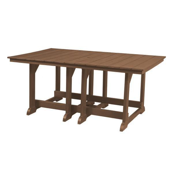 Little Cottage Co. Heritage 44x72 Table Table Tudor Brown