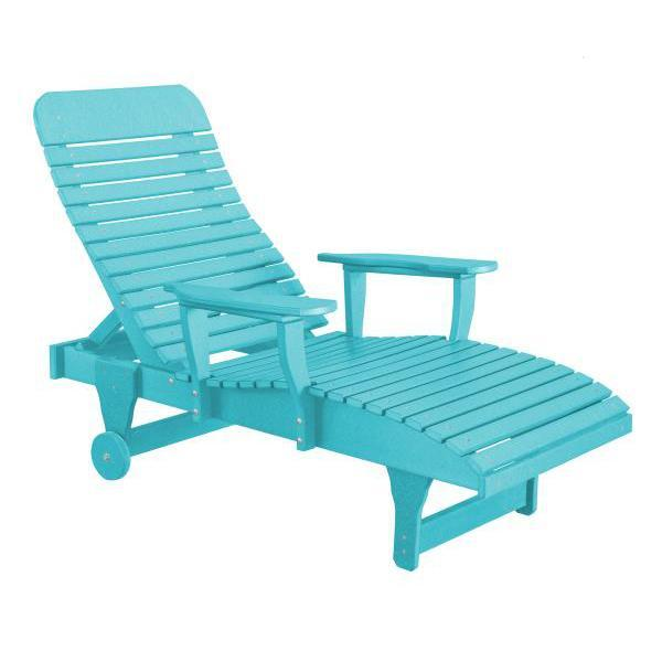 Little Cottage Co. Heritage Chaise Lounge Chair Aruba Blue